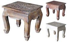 Hocker Blumenhocker aus Holz Tischchen 3 verschiedene Farben