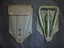 Current Issue British Army Military Folding Entrenching Tool / Shovel & Case