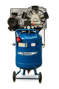 Remeza Druckluft Kompressor 3 kW/400 Volt/10 bar/ 90 l Liter Kessel-V, 580 l/min