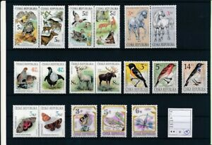 D194184 Czech Republic Nice selection of MH stamps