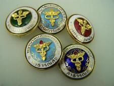 Assortment Indonesian? Malay? Nursing Medical pin back badges       3833