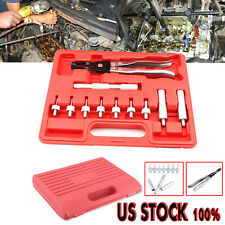 US 11PC Valve Stem Seal Removal Installer Remover Seal Adapters Plier Hand Tools