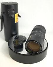 TAMRON 1:4.5 F=85-210mm BBAR MULTI.C Macro Zoom Lens (Two Touch)M42 MOUNT SCREW