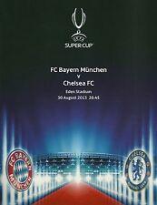 Landkarte europäisches Super Cup 2013 Bayern München vs Chelsea FC