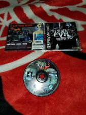 Resident Evil 3: Nemesis (PlayStation 1, 1999) complete cib ps2 psx