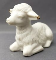 Centurion Collection Bisque Christmas Nativity R287 Lamb Sheep Figurine