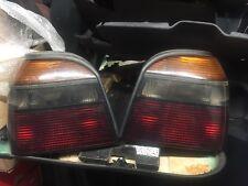 VW Golf MK3 HELLA Rear Tail Lights Pair GTi VR6 Dark Colour Concept Mk3.5 Cabrio