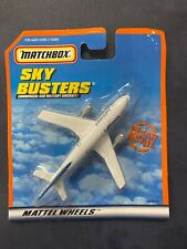 Matchbox SkyBusters Commercial & Military Aircraft Mattel Wheels Lufthansa Plane