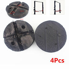 4x Round 120mm Ox Tendon Rubber Arm Pads lift pad For Auto Lift Car Hoist Update