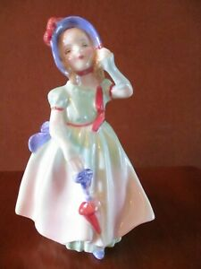 """ROYAL DOULTON  """"BABIE"""" YOUNG LADY FIGURINE  HN 1679"""