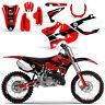 Yamaha YZ125 YZ250 Graphic Kit Dirt bike YZ 125 250 Deco 2002-2014 HURRICANE RED
