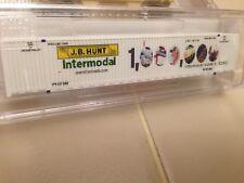 Micro-trains N Scale 53' container, JB Hunt Intermodal million loads JBHU 259748