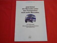 MERCEDES T1 Transporter TN Kastenwagen Mehrwert Prospekt von 1994