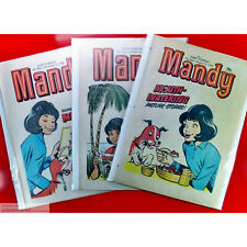 Mandy and Spellbound Comic Bags and Boards Acid Reseal/Tape Free A4+ Size4 x 10