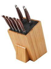 Messerblock Universal ohne Messer Universal ausHolz mit Borsten Sehr Groß Bambus