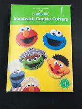 Williams Sonoma Sesame Street Cookie Cutters Set Of 4 - Used