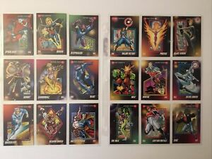 1992 Marvel Impel Universe Series 3 Trading Cards Complete Set #1-200