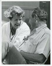 MARTHA RAYE LAUGHING PHIL HARRIS OPERATION ENTERTAINMENT ORIG 1967 ABC TV PHOTO