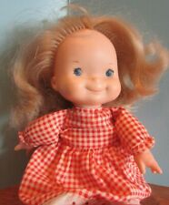1973 Fisher Price Toys 200 Mary Lapsitter 13� Doll Blonde Hair Blue Eyes