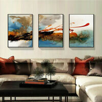 Abstract Ink Paint Unframed Canvas Print Painting Pictures Room Home Welt Wall