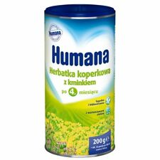 HUMANA Organic Fennel Caraway Baby Tea - From the 4th mo.FREE SHIPPING