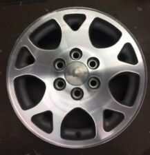 "2001-2006 CHEVY Tahoe Suburban Factory Polished Alloy Wheel 17"" Rim 5117 OEM"
