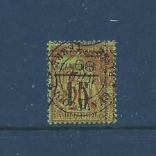 GUADELOUPE- 8 - USED - 1889 - TYPE VI POS 12 - FLEURONS POINT TO BOX ALL CORNERS