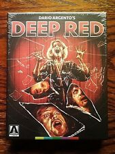 Deep Red Blu-ray NEW Sealed 2 Disc US Limited Edition Arrow Argento Giallo