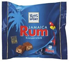 RITTER SPORT JAMAICA RUM CHOCOLATE PIECES FROM GERMANY ! GERMAN CANDY