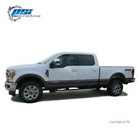 Black Paintable OE Style Fender Flares 17-19 Ford F-250, F-350 Super Duty