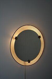 Aus den 50er Jahren Beleuchteter Spiegel Mategot Aera