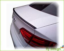 Audi A4 B8 Rear Spoiler Lip Boot Spoiler Lip Tailgate - Ibis White LY9C
