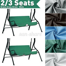 Swing Cover Chair Waterproof Cushion Patio Garden Outdoor 2/3 Seat Replacement