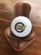 Logo Golf Ball Jasper Park Lodge Golf Club Alberta Canada