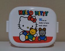 Hello Kitty Lunch Box Storage Container from SANRIO Made in Japan