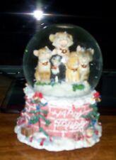 """San Francisco Music Box Cats At Xmas """"We Wish You A Merry Xmas"""""""