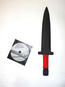 BOWIE Knife ARKANSAS TOOTHPICK TRAINING Polypropylene and DVD