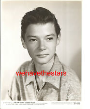 Vintage Johnny Stewart YOUTHFUL CHILD STAR '51 BOOTS MALONE Publicity Portrait