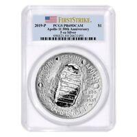 2019 P 5 oz Apollo 11 50th Anniversary Proof Silver Dollar Comm. PCGS PF 69 FS