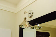 Brass Articulating Boom Wall Sconce Shade Lamp Vanity Industrial Modern Lamp