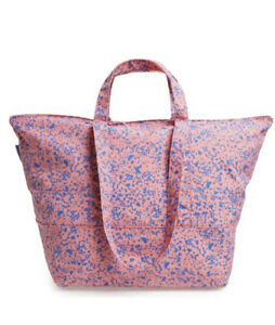 BAGGU BLUSH STATIC Carry All Weekender Bag NWOT - Discontinued Pattern & Product