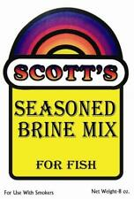 8 Ounce Package Scott's Brine Mix Fish For Up To 12 lbs Of Fish