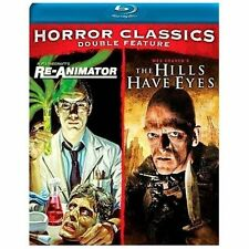 Horror Classics Double Feature: Re-Animator/The Hills Have Eyes (Blu-ray...