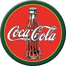 Coca Cola 1930s Bottle round fridge magnet 77mm diameter (de)
