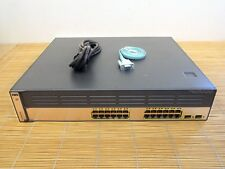 Cisco Catalyst WS-C3750G-24WS-S25 Switch = WS-C3750G-24PS-S +Wireless Controller