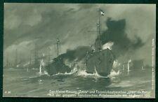 1915, Hungary Naval card, ship 'KAISER FRANZ JOSEF I' circular date