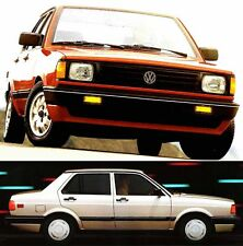 1989 VW FOX BROCHURE -FOX GL-FOX 2D-FOX 4D-FOX WAGON-VOLKSWAGEN FOX