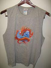 Planet Hollywood Orlando Florida USA Vintage 1998 Dragon Tank Top T Shirt Large