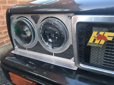 Custom Alloy EVO 3D Headlight Trims + Grille Lancia delta integrale Hella Delete