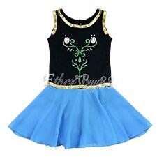 Toddler Girl Leotard Dress Ballet Dance Gymnastic Tutu Clothes Dancewear Costume